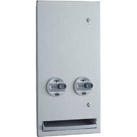 Bobrick® TrimLineSeries™ 25 Cent Recessed Sanitary Vendor - B37063 25