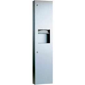Bobrick® TrimLineSeries™ Semi-Reces. Towel Dispenser/Recept-6-3/10 Gal - B38032