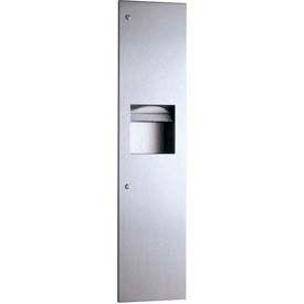 Bobrick® TrimLineSeries™ Recessed Towel Dispenser/Receptacle-3-4/5 Gal - B38034