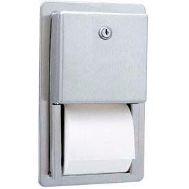 Bobrick® ClassicSeries™ Recessed Multi-Roll Tissue Dispenser - B3888
