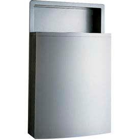 Bobrick® ConturaSeries® B43644 Recessed Waste Receptacle w/ LinerMate®