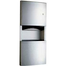 Bobrick® ConturaSeries® Recessed Towel Dispenser / Receptacle-2-3/5 Gal. - B4369