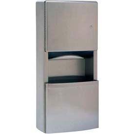 Bobrick® ConturaSeries® Surface Mount Towel Dispenser/Recept-2-3/5 Gal - B43699