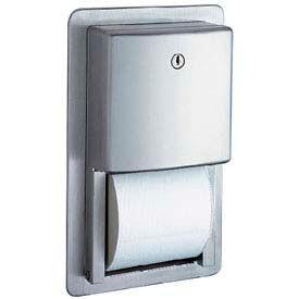 Bobrick® ConturaSeries® Recessed Multi-Roll Tissue Dispenser - B4388