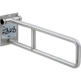 "Bobrick® Swing Up Grab Bar - 29""W Peened - B4998.99"