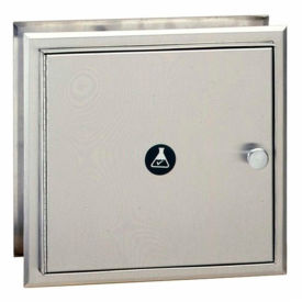 Bobrick® Recessed Specimen Pass-Thru Cabinet, Stainless Steel