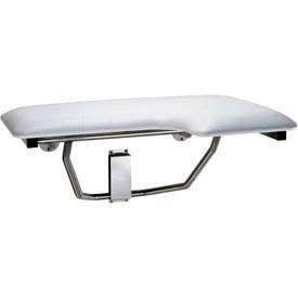 "Bobrick® Folding Left Hand Shower Seat - 32-7/8""W - B518"
