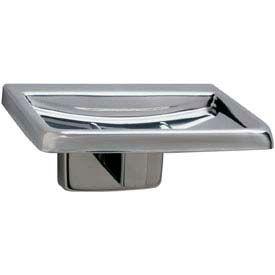 "Bobrick® Soap Dish - 4-1/2""W x 2""H Satin - B6807"