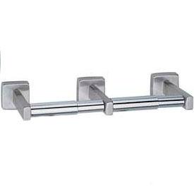 Bobrick® Surface Mounted Double Tissue Dispenser - Satin - B6867