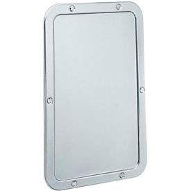 "Bobrick® Vandal Resistant Frameless Mirror - 11-1/4""W x 17-1/4""H - B942"