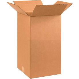 "Tall Cardboard Corrugated Boxes 10"" x 10"" x 18"" 200#/ECT-32 - Pkg Qty 25"