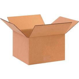 "Cardboard Corrugated Boxes 10"" x 10"" x 6"" 200#/ECT-32 - Pkg Qty 25"