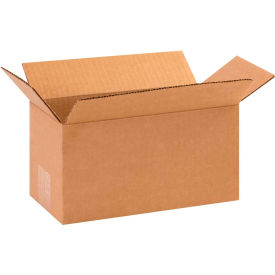 "Long Cardboard Corrugated Boxes 10"" x 5"" x 5"" 200#/ECT-32 - Pkg Qty 25"