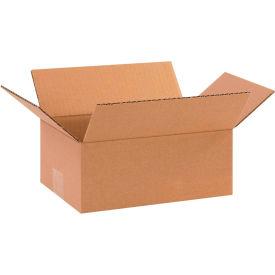 "Cardboard Corrugated Boxes 10"" x 7"" x 4"" 200#/ECT-32 - Pkg Qty 25"