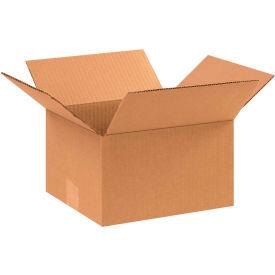 "Cardboard Corrugated Boxes 10"" x 9"" x 6"" 200#/ECT-32 - Pkg Qty 25"