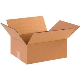 "Flat Cardboard Corrugated Boxes 12"" x 10"" x 5"" 200#/ECT-32 - Pkg Qty 25"