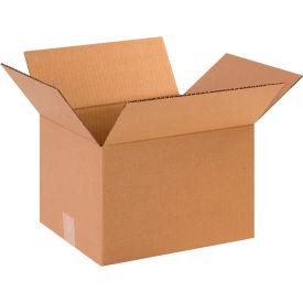 "Cardboard Corrugated Boxes 12"" x 10"" x 8"" 200#/ECT-32 - Pkg Qty 25"