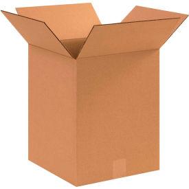 "Cardboard Corrugated Boxes 12"" x 12"" x 15"" 200#/ECT-32 - Pkg Qty 25"