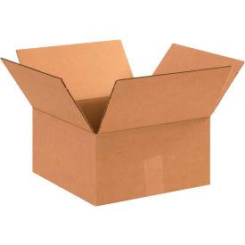 "Flat Cardboard Corrugated Boxes 12"" x 12"" x 6"" 200#/ECT-32 - Pkg Qty 25"
