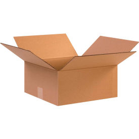 "Cardboard Corrugated Boxes 12-1/2"" x 12-1/2"" x 6"" 200#/ECT-32 - Pkg Qty 25"