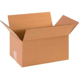 "Cardboard Corrugated Boxes 12"" x 8"" x 6"" 200#/ECT-32 - Pkg Qty 25"
