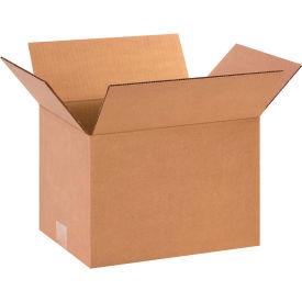 "Cardboard Corrugated Boxes 12"" x 9"" x 8"" 200#/ECT-32 - Pkg Qty 25"