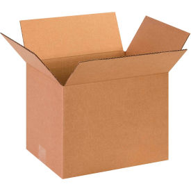 "Cardboard Corrugated Boxes 13"" x 10"" x 10"" 200#/ECT-32 - Pkg Qty 25"