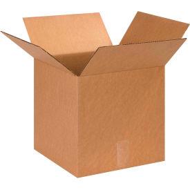"Cube Cardboard Corrugated Boxes 13"" x 13"" x 13"" 200#/ECT-32 - Pkg Qty 25"