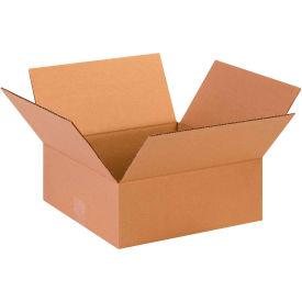 "Flat Cardboard Corrugated Boxes 13"" x 13"" x 5"" 200#/ECT-32 - Pkg Qty 25"