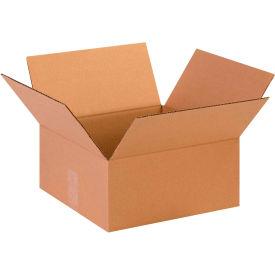 "Flat Cardboard Corrugated Boxes 13"" x 13"" x 6"" 200#/ECT-32 - Pkg Qty 25"