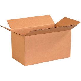"Long Cardboard Corrugated Boxes 13"" x 7"" x 7"" 200#/ECT-32 - Pkg Qty 25"