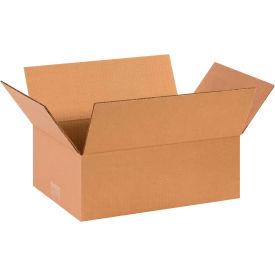 "Flat Cardboard Corrugated Boxes 14"" x 10"" x 5"" 200#/ECT-32 - Pkg Qty 25"