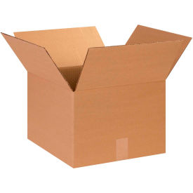 "Cardboard Corrugated Boxes 14"" x 14"" x 10"" 200#/ECT-32 - Pkg Qty 25"