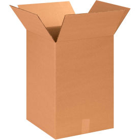 "Cardboard Corrugated Boxes 14"" x 14"" x 20"" 200#/ECT-32 - Pkg Qty 20"