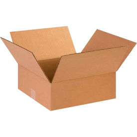"Flat Cardboard Corrugated Boxes 14"" x 14"" x 5"" 200#/ECT-32 - Pkg Qty 25"