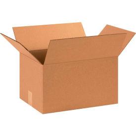 "Cardboard Corrugated Boxes 15"" x 11"" x 8"" 200#/ECT-32 - Pkg Qty 25"