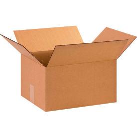 "Cardboard Corrugated Boxes 15"" x 12"" x 8"" 200#/ECT-32 - Pkg Qty 25"