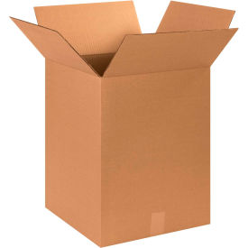 "Cardboard Corrugated Boxes 15"" x 15"" x 20"" 200#/ECT-32 - Pkg Qty 25"