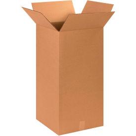 "Tall Cardboard Corrugated Boxes 15"" x 15"" x 30"" 200#/ECT-32 - Pkg Qty 15"