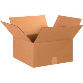 "Cardboard Corrugated Boxes 15"" x 15"" x 8"" 200#/ECT-32 - Pkg Qty 25"