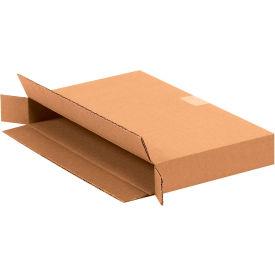 "Side Loading Cardboard Corrugated Boxes 15"" x 2"" x 9"" 200#/ECT-32 - Pkg Qty 25"
