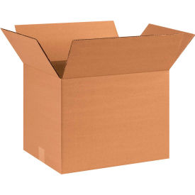 "Cardboard Corrugated Box 16"" x 12"" x 12"" 200lb. Test/ECT-32 - 25 Pack"