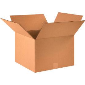 "Cardboard Corrugated Boxes 16"" x 16"" x 11"" 200#/ECT-32 - Pkg Qty 25"