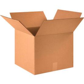 "Cardboard Corrugated Boxes 16"" x 16"" x 13"" 200#/ECT-32 - Pkg Qty 25"