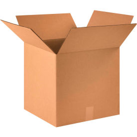 "Cardboard Corrugated Boxes 16"" x 16"" x 15"" 200#/ECT-32 - Pkg Qty 25"