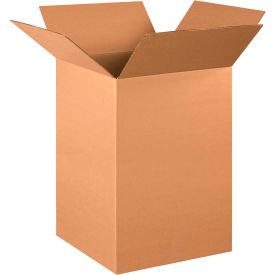 "Tall Cardboard Corrugated Boxes 16"" x 16"" x 26"" 200#/ECT-32 - Pkg Qty 10"