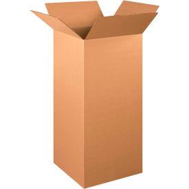 "Tall Cardboard Corrugated Boxes 16"" x 16"" x 36"" 200#/ECT-32 - Pkg Qty 10"