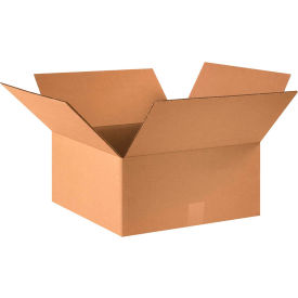 "Cardboard Corrugated Boxes 16"" x 16"" x 7"" 200#/ECT-32 - Pkg Qty 25"