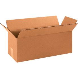 "Long Cardboard Corrugated Boxes 16"" x 5"" x 5"" 200#/ECT-32 - Pkg Qty 25"