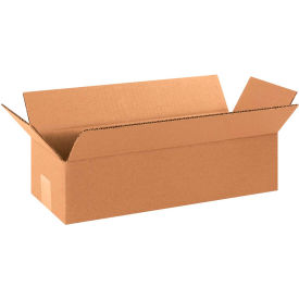 "Long Cardboard Corrugated Boxes 16"" x 6"" x 4"" 200#/ECT-32 - Pkg Qty 25"